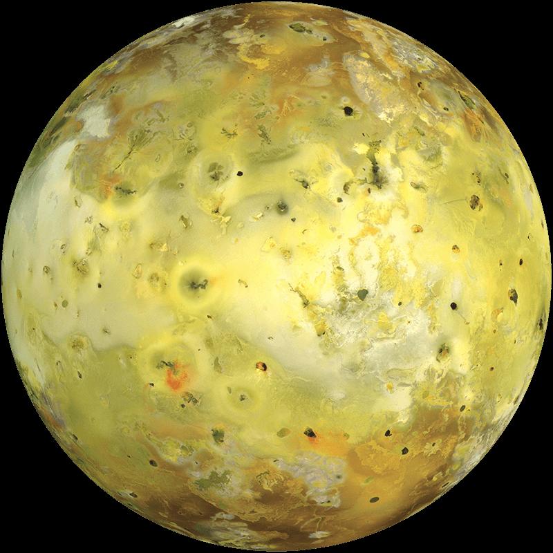 Спутник Плутона Ио
