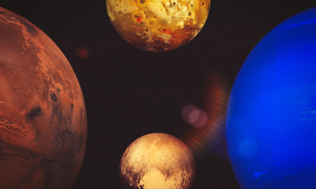 Фотографии планет Солнечной системы от NASA
