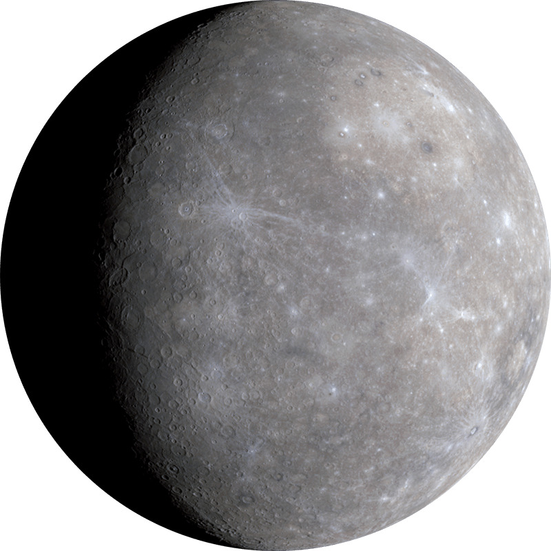 the background information of the planet mercury Mercury is the smallest planet in our solar system—only slightly larger than earth's moon if the sun were as tall as a typical front door, earth would be the size of a nickel and mercury would be about as big as a green pea.