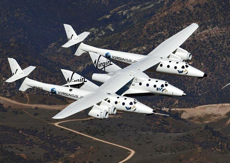 SpaceShipTwo + WhiteKnightTwo