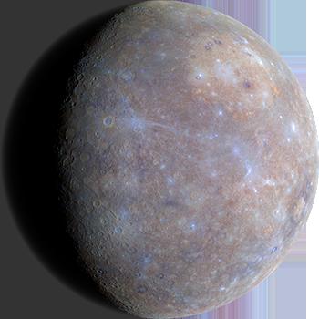 Планета Меркурий первая от Солнца