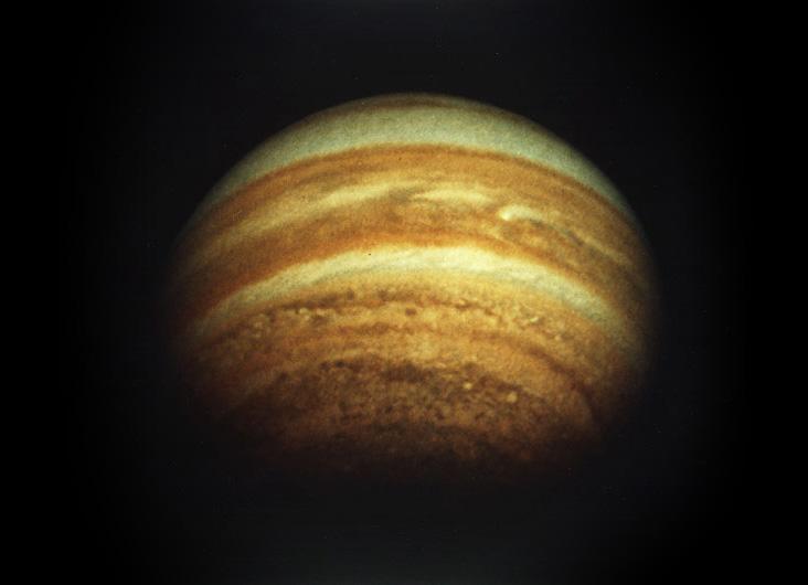 Юпитер — фото аппарата Пионер 11, 1979