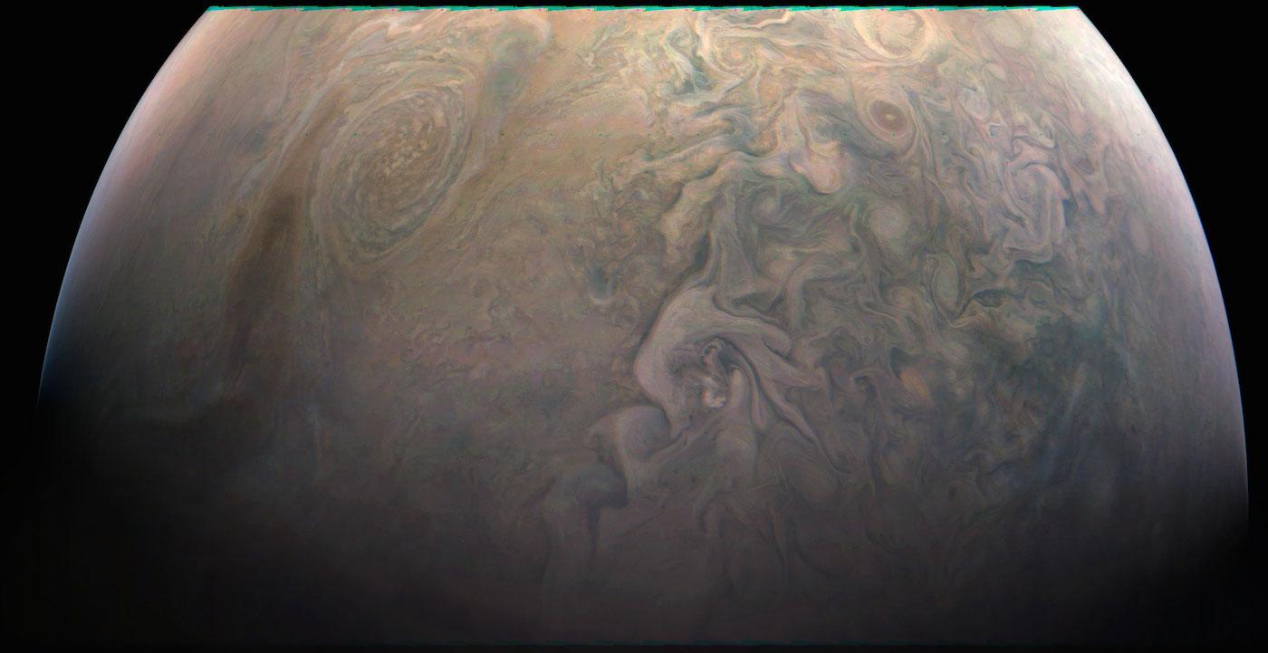 Малое красное пятно Юпитера