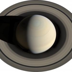 Сатурн — шестая планета от Солнца, газовый гигант