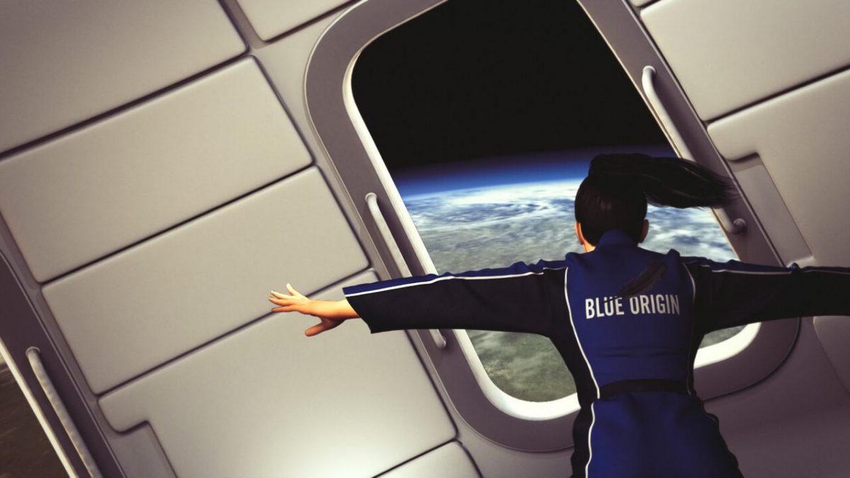 Blue Origin космический туризм