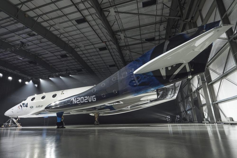 Презентация ракетоплана Virgin Galactic — VSS Unity, 2016