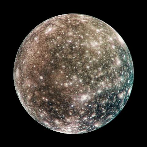 Каллисто спутник Юпитера