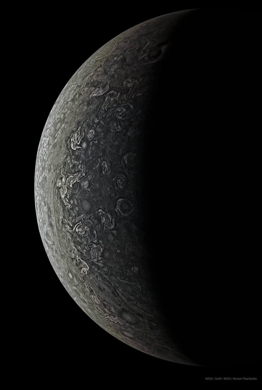 Облака и вихри Юпитера