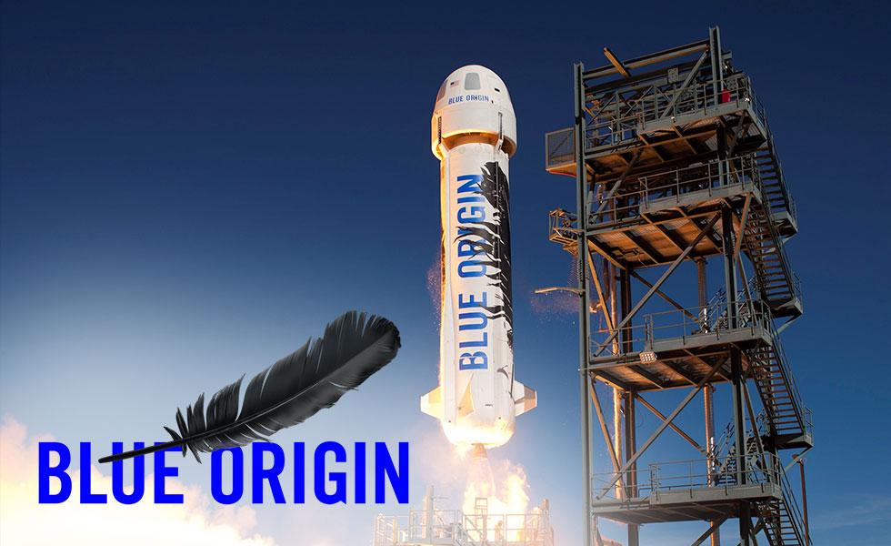 Blue Origin запуск ракеты космический туризм
