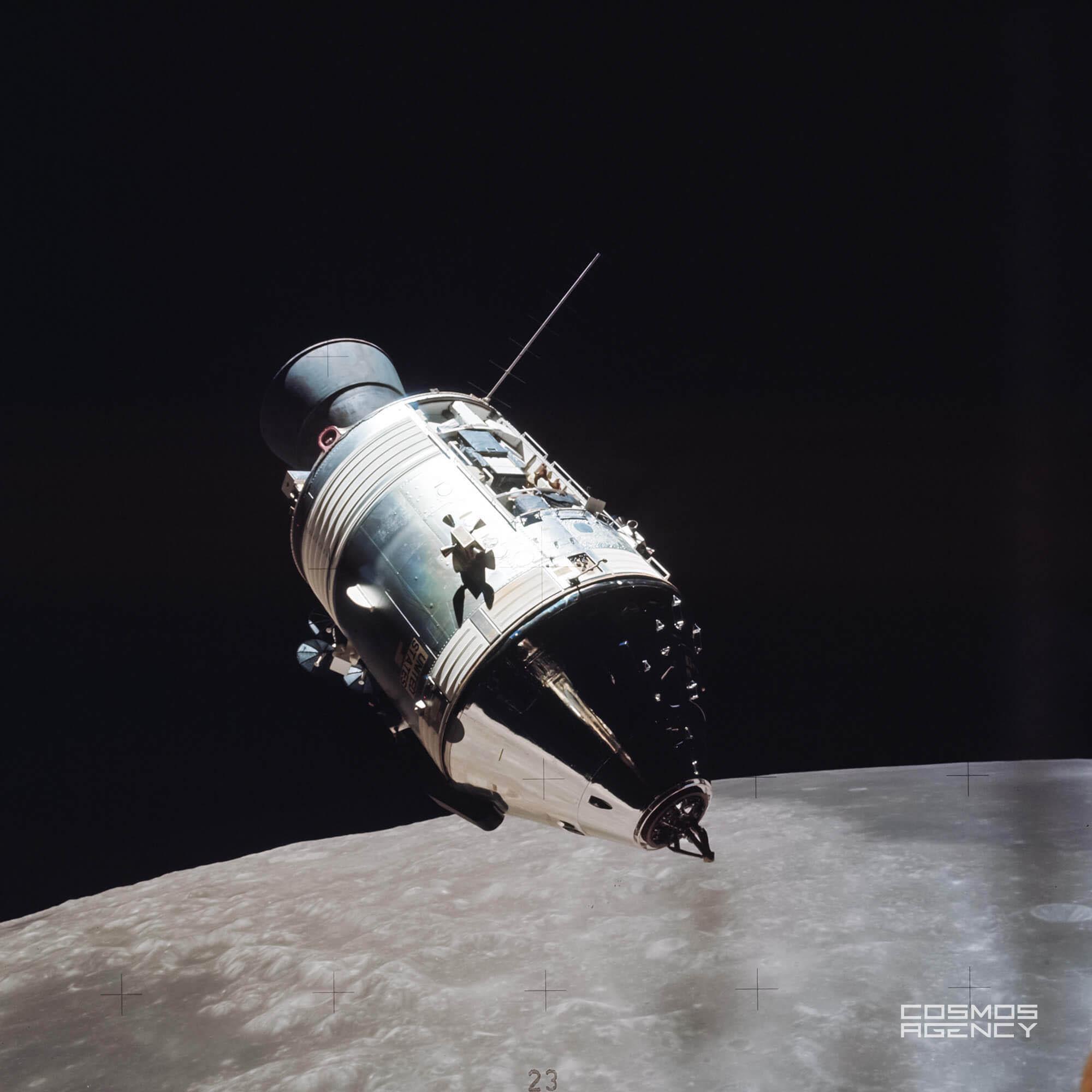 Командный/служебный отсеки космического корабля Аполлон во время рандеву, Аполлон 17