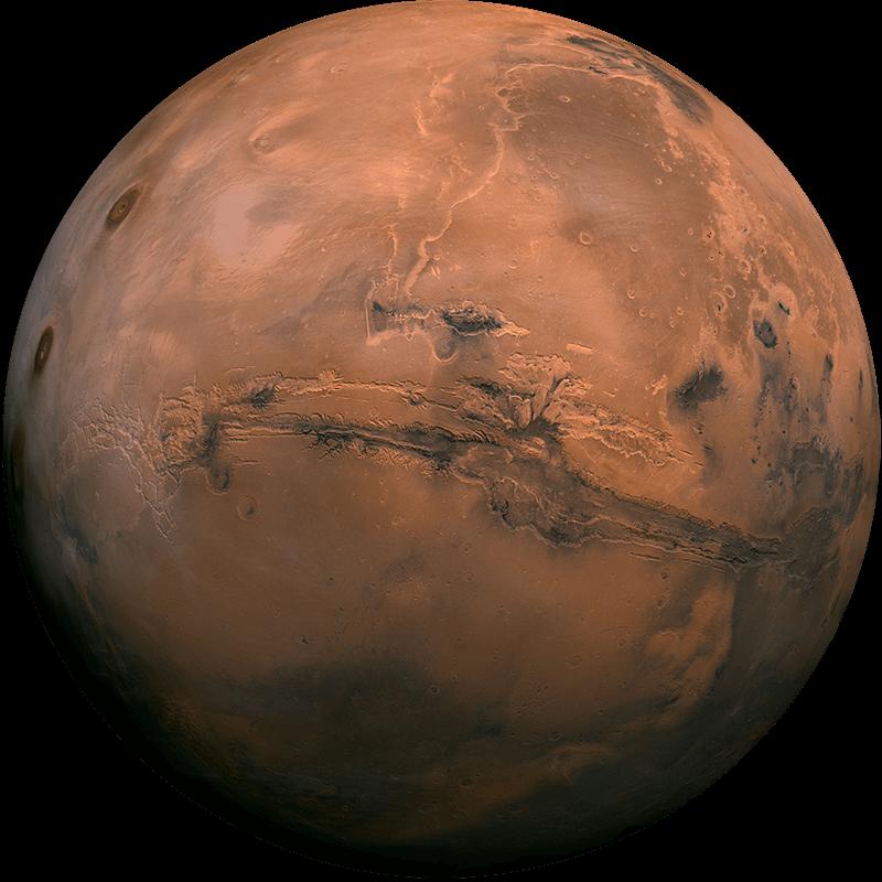 Фотография планеты Марс