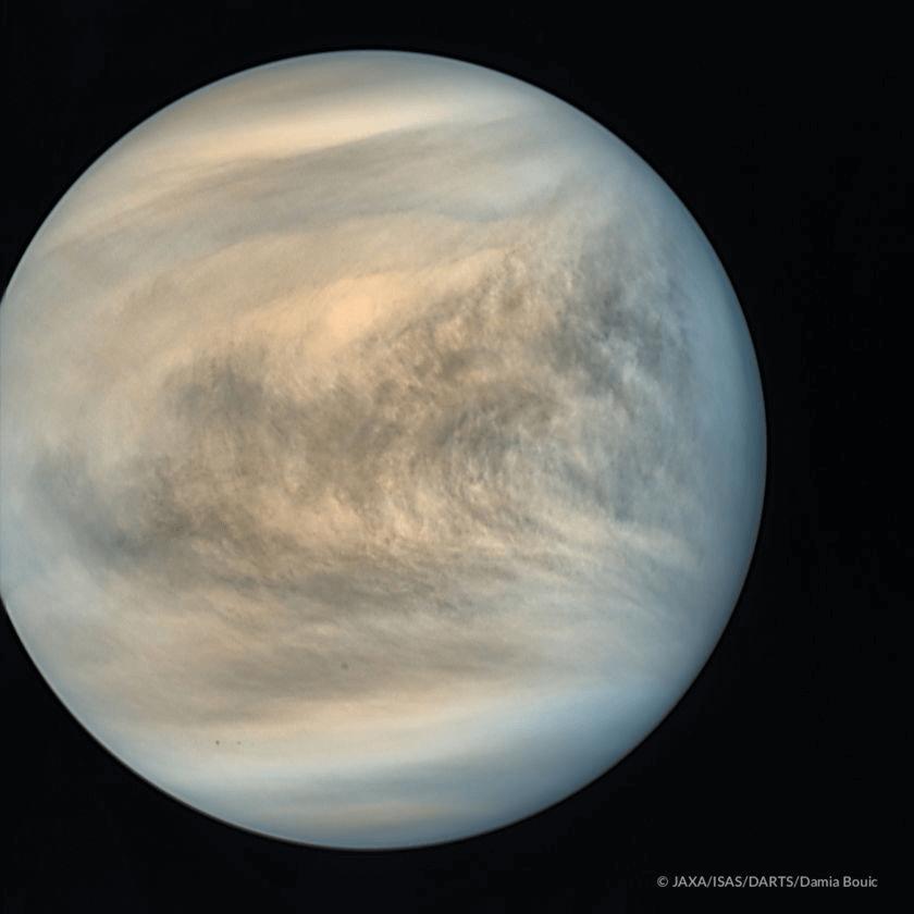 Планета Венера (Venus) фотография аппарата Акацуки