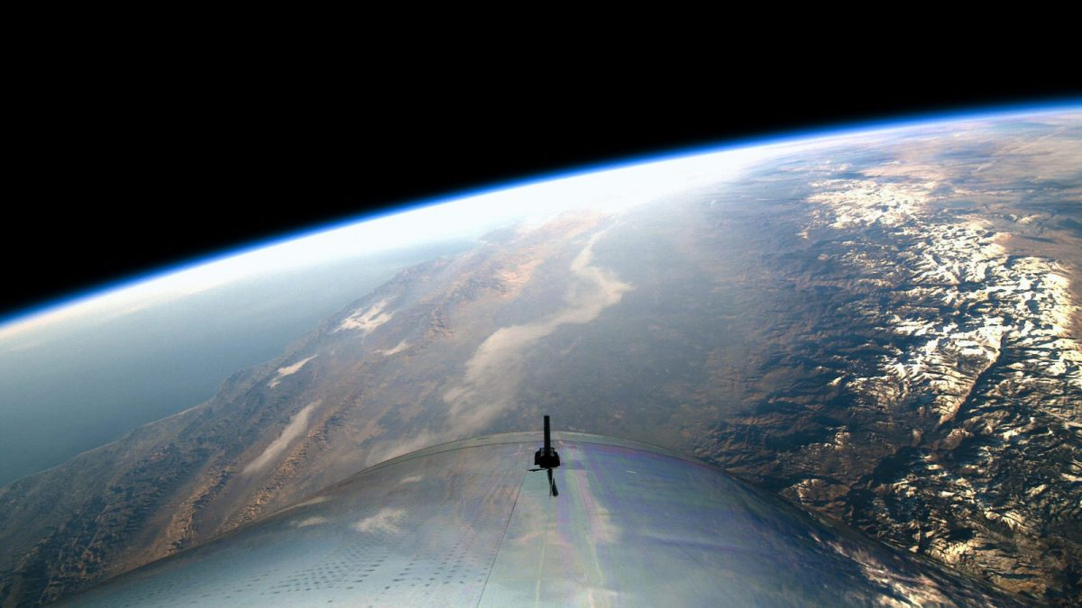 Ричард Бренсон летит в космос